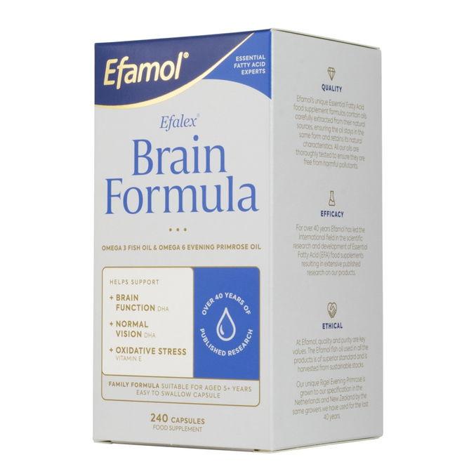 EFAMOL (EFALEX) BRAIN FORMULA ЭФАМОЛ 240 КАПСУЛ 1