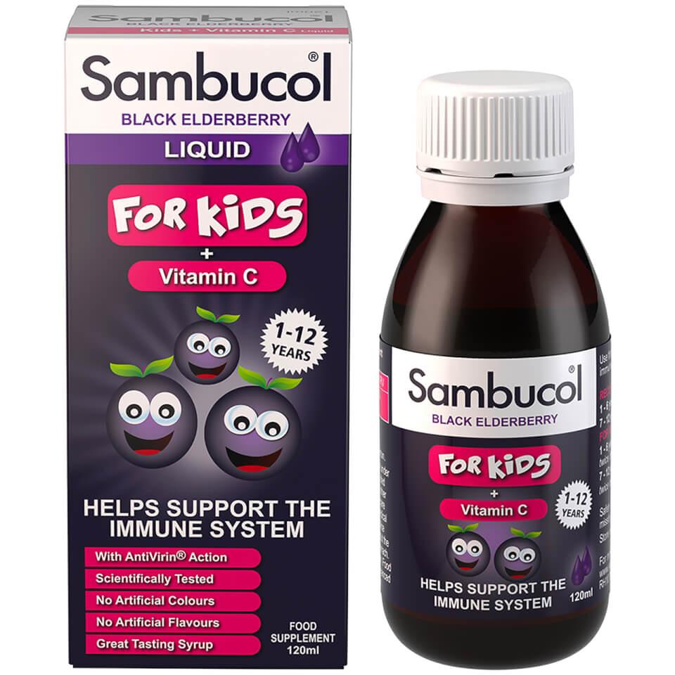 SAMBUCOL BLACK ELDERBERRY LIQUID FOR KIDS