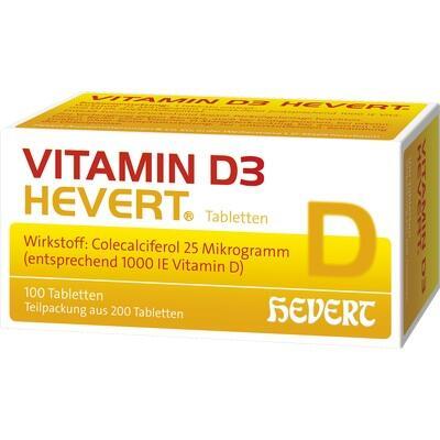 VITAMIN D3 HEVERT